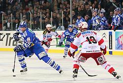 21.01.2011, Arena Ice Fever, Zagreb, CRO, EBEL, KHL Medvescak Zagreb vs EC KAC, im Bild Joel Prpic. EXPA Pictures © 2010, PhotoCredit: EXPA/ nph/ Pixsell +++++ ATTENTION - OUT OF GERAMANY / GER, CROATIA / CRO, SWEDEN / SWE +++++