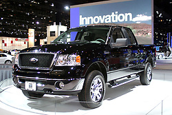 09 February 2006:  2007 Ford F150 4X4 pickup truck.....Chicago Automobile Trade Association, Chicago Auto Show, McCormick Place, Chicago IL