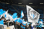 March 2, 2019; San Jose, CA, USA; San Jose Earthquakes fans yell before the match against the Montreal Impact at Avaya Stadium.