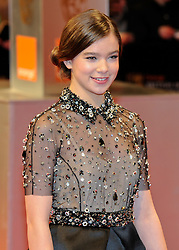 ©London News Pictures. 13/02/2011. Actress Hailee Steinfeld Arriving at BAFTA Awards Ceremony Royal Opera House Covent Garden London on 13/02/2011. Photo credit should read: Peter Webb/London News Pictures