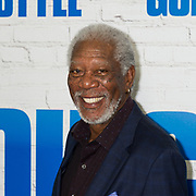 "Morgan Freeman arrives to the world premiere of ""Going In Style"" in New York City."