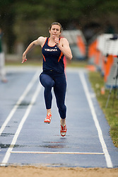 Virginia Cavaliers Bianca Debartolo placed fourth in the long jump.  The University of Virginia Track and Field team hosted the 2007 Lou Onesty Invitational Track Meet at the University of Virginia in Charlottesville, VA on April 14, 2007.
