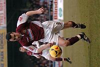 Photo: Ian Hebden.<br />Northampton Town v Rushden & Diamonds. Coca Cola League 2. 04/02/2006.<br />Scorer of Northampton Town's second goal Scott McGleish.