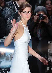 Emma Watson arrives for the UK premiere of the film 'Noah', Odeon, London, United Kingdom. Monday, 31st March 2014. Picture by Daniel Leal-Olivas / i-Images