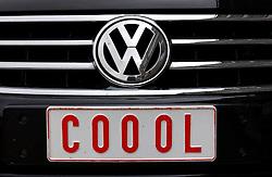 KNOKKE, BELGIUM - JULY-26-2005 -  Vanity license plate - Knokke-Zoute. (REPORTERS © JOCK FISTICK)
