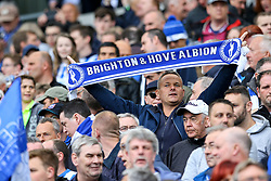 Brighton & Hove Albion fans - Mandatory by-line: Jason Brown/JMP - 17/04/2017 - FOOTBALL - Amex Stadium - Brighton, England - Brighton and Hove Albion v Wigan Athletic - Sky Bet Championship