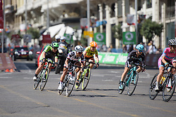 Coryn Rivera at Madrid Challenge by la Vuelta 2017 - a 87 km road race on September 10, 2017, in Madrid, Spain. (Photo by Sean Robinson/Velofocus.com)