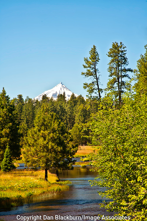 Deschutes River and Mt. Bachelor Oregon