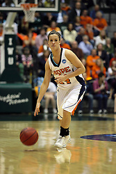 20 March 2010: Allie Cerone. The Flying Dutch of Hope College fall to the Bears of Washington University 65-59 in the Championship Game of the Division 3 Women's NCAA Basketball Championship the at the Shirk Center at Illinois Wesleyan in Bloomington Illinois.