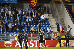 September 20, 2018 - Genk, Belgien - 180920 Players of MalmÅ¡ FF thank their supporters after the Europa League group stage match between Genk and MalmÅ¡ FF on September 20, 2018 in Genk..Photo: Ludvig Thunman / BILDBYRN / kod LT / 35538 (Credit Image: © Ludvig Thunman/Bildbyran via ZUMA Press)