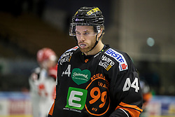 26.10.2015, Eisstadion Liebenau, Graz, AUT, EBEL, Moser Medical Graz 99ers vs HC TWK Innsbruck, 16. Runde, im Bild Markus Pirmann (EC Graz 99ers) // during the Erste Bank Icehockey League 16th Round match between Moser Medical Graz 99ers and HC TWK Innsbruck at the Ice Stadium Liebenau, Graz, Austria on 2015/10/26, EXPA Pictures © 2015, PhotoCredit: EXPA/ Erwin Scheriau