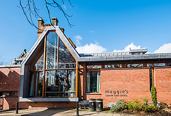 External view of Maggie's Cancer Care Centre at Glasgow university, Scotland, United Kingdom