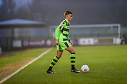 Forest Green Rovers Charlie Cooper(20) on the ball during the Vanarama National League match between Forest Green Rovers and Dover Athletic at the New Lawn, Forest Green, United Kingdom on 17 December 2016. Photo by Shane Healey.