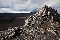 Breiðbakur, vestan við Langasjó. Mount Breidbakur west of lake Langisjor.