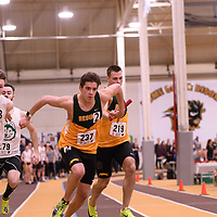 Bryden Trakalo in action during the 2018 Canada West Track & Field Championship on February  24 at James Daly Fieldhouse. Credit: Arthur Ward/Arthur Images
