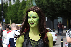 Manchester UK 30.07.2016: Comiccon held at the Manchester Center