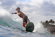 November 1st 2010: Bryce Young free surfing at Makaha Oahu-Hawaii. Photo by Matt Roberts/mattrIMAGES.com.au