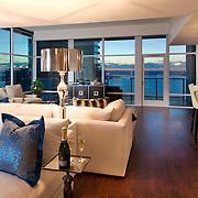 Penthouse condominum overlooking San Diego Harbor