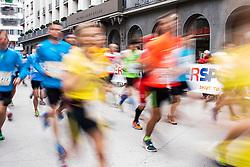 Athlets during 20th Ljubljana Marathon 2015, on October 25, 2015 in Ljubljana, Slovenia. Photo by Urban Urbanc / Sportida.com