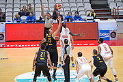 DESCRIZIONE : Varese FIBA Eurocup 2015-16 Openjobmetis Varese Telenet Ostevia Ostende<br /> GIOCATORE : Mouhammad Faye<br /> CATEGORIA : Palla a Due<br /> SQUADRA : Openjobmetis Varese<br /> EVENTO : FIBA Eurocup 2015-16<br /> GARA : Openjobmetis Varese - Telenet Ostevia Ostende<br /> DATA : 28/10/2015<br /> SPORT : Pallacanestro<br /> AUTORE : Agenzia Ciamillo-Castoria/M.Ozbot<br /> Galleria : FIBA Eurocup 2015-16 <br /> Fotonotizia: Varese FIBA Eurocup 2015-16 Openjobmetis Varese - Telenet Ostevia Ostende