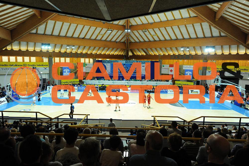 DESCRIZIONE : Bormio Torneo Internazionale Diego Gianatti Italia Macedonia<br /> GIOCATORE : Panoramica Pentagono<br /> SQUADRA : Nazionale Italia Uomini<br /> EVENTO : Torneo Internazionale Guido Gianatti<br /> GARA : Italia Macedonia<br /> DATA : 30/07/2011 <br /> CATEGORIA : panoramica<br /> SPORT : Pallacanestro <br /> AUTORE : Agenzia Ciamillo-Castoria/GiulioCiamillo<br /> Galleria : Fip Nazionali 2011<br /> Fotonotizia : Bormio Torneo Internazionale Diego Gianatti Italia Macedonia<br /> Predefinita :