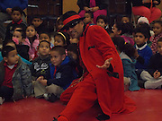Pancho Claus performed and passed out gifts to the children of Stevens ES.<br /> To submit photos for inclusion in eNews, send them to hisdphotos@yahoo.com.
