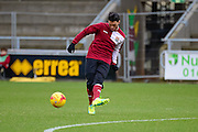 Northampton Town Midfielder Danny Rose  during the Sky Bet League 2 match between Northampton Town and York City at Sixfields Stadium, Northampton, England on 6 February 2016. Photo by Dennis Goodwin.