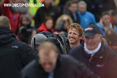 2013 - JEAN PIERRE DICK VENDEE GLOBE ARRIVAL - 4th - LES SABLES D'OLONNE - FRANCE