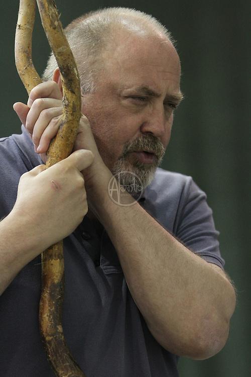 Turandot Staging #1, Seattle Opera, July 11, 2012. Peter Rose.