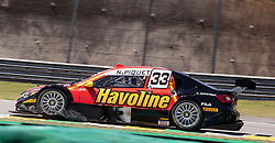 December 9, 2018 - Sao Paulo, Sao Paulo, Brazil - Nov, 2018 - #33 NELSON PIQUET JR of Full Time Bassani during the final stage of the 2018 championship of the Brazilian Stock Car, at Interlagos circuit, in Sao Paulo, Brazil. (Credit Image: © Paulo Lopes via ZUMA Wire) (Credit Image: © Paulo Lopes/ZUMA Wire)