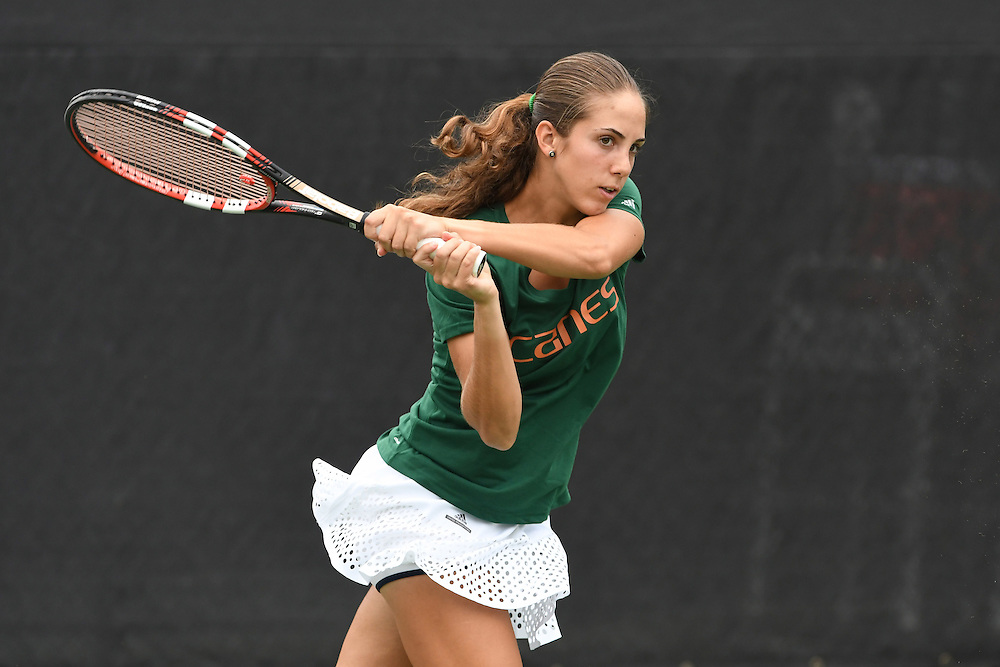2017 Miami Hurricanes Men's & Women's Tennis Photo Day