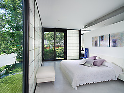 bedroom 4325 Rosedale Ave Bethesda Levina Fici Pasquina architect and contractor Master Bedroom