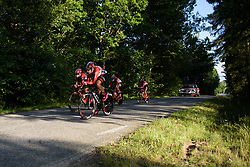 Lotto Soudal Ladies at the Crescent Vargarda - a 42.5 km team time trial, starting and finishing in Vargarda on August 11, 2017, in Vastra Gotaland, Sweden. (Photo by Sean Robinson/Velofocus.com)