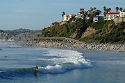 Surfing San Clemente Stock Photos