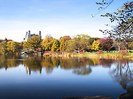 Autumn at Turtle Pond in Central Park