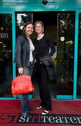 Tina Krizan, nekdanja vrhunska teniska igralka in Maja Matevzic, nekdanja vrhunska teniska igralka na okrogli mizi O slovenskem tenisu v organizaciji Sportforum Slovenija, on May 17, 2011 in BTC, Ljubljana, Slovenia. (Photo By Vid Ponikvar / Sportida.com)