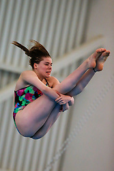 Katherine Torrance from City of Leeds Diving Club competes during the Womens 3m Springboard Preliminary - Mandatory byline: Rogan Thomson/JMP - 24/01/2016 - DIVING - Southend Swimming & Diving Centre - Southend-on-Sea, England - British National Diving Cup Day 3.