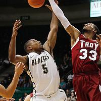 131114 UAB vs Troy Mens Basketball