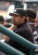 Apr 11, 2006; Detroit, MI, USA: Chicago White Sox manager Ozzie Guillen, Comerica Park.