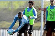 Practica de la Selección Uruguaya
