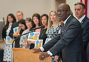 Ken Huewitt comments during Children at Risk awards presentation to area schools at Pilgrim Academy, June 6, 2016.