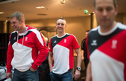 28.01.2014,  Marriott, Wien, AUT, Sochi 2014, Einkleidung OeOC, im Bild Christoph Sumann (Biathlon, AUT) // Christoph Sumann (Biathlon, AUT) during the outfitting of the Austrian National Olympic Committee for Sochi 2014 at the  Marriott in Vienna, Austria on 2014/01/28. EXPA Pictures © 2014, PhotoCredit: EXPA/ JFK