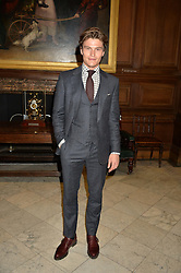 OLIVER CHESHIRE at the LDNY Fashion Show and WIE Award Gala sponsored by Maserati held at The Goldsmith's Hall, Foster Lane, City of London on 27th April 2015.