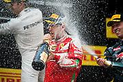 April 15-17, 2016: Chinese Grand Prix, Shanghai, Sebastian Vettel (GER), Ferrari, Daniil Kvyat, (RUS), Red Bull