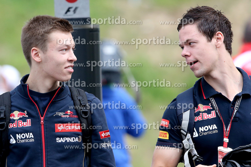 21.06.2014, Red Bull Ring, Spielberg, AUT, FIA, Formel 1, Grosser Preis von &Ouml;sterreich, Qualifying, im Bild Daniil Kvyat (RUS) Scuderia Toro Rosso. // during the qualifying of the Austrian Formula One Grand Prix at the Red Bull Ring in Spielberg, Austria on 2014/06/21. EXPA Pictures &copy; 2014, PhotoCredit: EXPA/ Sutton Images/ Boland<br /> <br /> *****ATTENTION - for AUT, SLO, CRO, SRB, BIH, MAZ only*****
