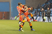 GOAL 1-0 Wycombe Wanderers defender Adam El-Abd (6) scores and celebrates during the EFL Sky Bet League 1 match between Gillingham and Wycombe Wanderers at the MEMS Priestfield Stadium, Gillingham, England on 15 December 2018.