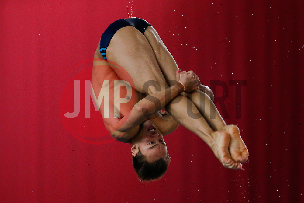 Tom Daley of Dive London Aquatic Centre practices - Photo mandatory by-line: Rogan Thomson/JMP - 07966 386802 - 22/02/2015 - SPORT - DIVING - Plymouth Life Centre, England - Day 3 - British Gas Diving Championships 2015.