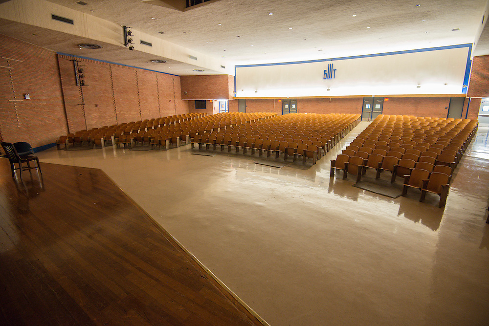 Washington High School auditorium, December 16, 2013.