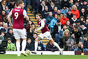 Burnley midfielder Jeff Hendrick  during the Premier League match between Burnley and Leicester City at Turf Moor, Burnley, England on 19 January 2020.