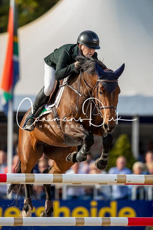 Hughes-Kennedy Seamus, IRL, Cuffesgrange Cavadora<br /> FEI WBFSH Jumping World Breeding Championship Lanaken 2019<br /> © Hippo Foto - Dirk Caremans<br />  22/09/2019